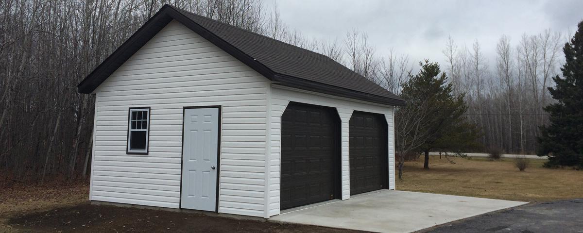 Garages pcc kit garages chalets maisons de campagne for Garage plan de campagne